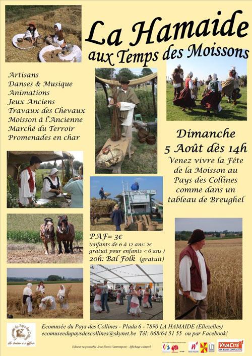 La fête de la moisson du Pays des Collines à l'Ecomusée de Lahamaide